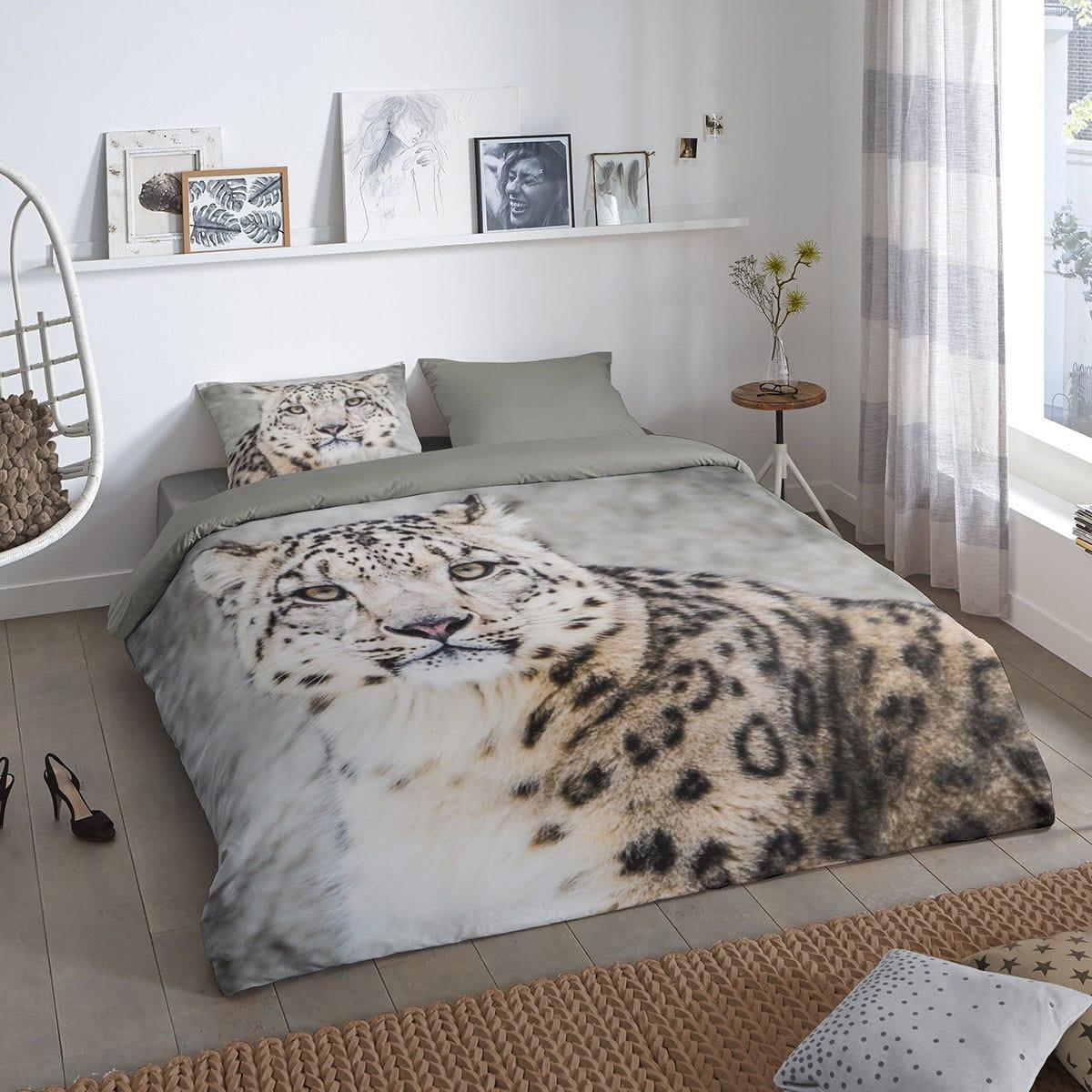 Leopard bettwsche