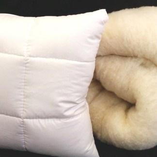 Kissen Schafwolle