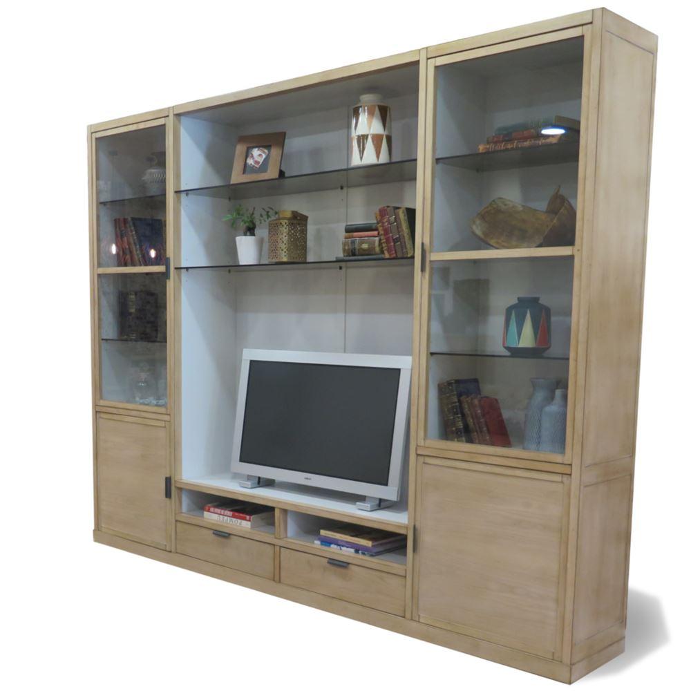 Mueble modular contemporneo vintage para tv Loft en bettyCo