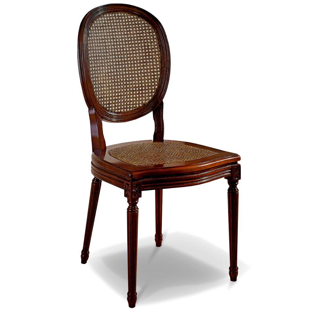 Silla Clsica Luis XVI asiento rejilla en bettyCo