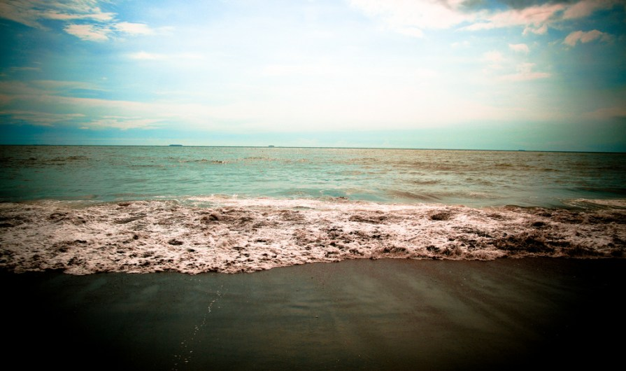 Padang blue sky
