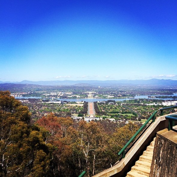 Nation's capital. #canberra