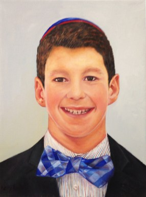 """Zachary 12yo,"" Oil on Canvas, 12""x16"" -SOLD"