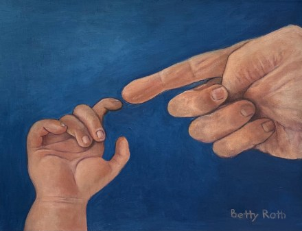 """""""From Generation to Generation,"""" Oil on Canvas, 16""""x20"""""""