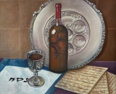 """""""Passover,"""" Oil on Canvas, 16""""x20"""""""