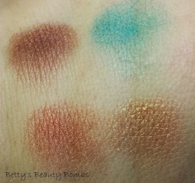 Be a Bombshell Eyeshadow Palette in Bora Bora Swatch