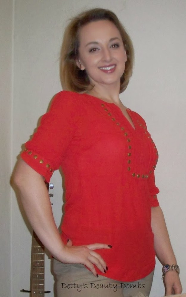 Outfit of the Day: Stitch Fix 41 Hawthorn Moni Stud Blouse