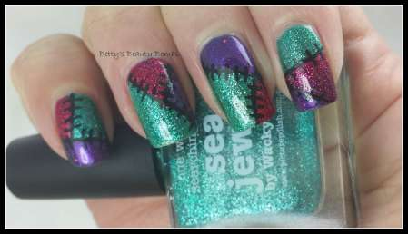 Patchwork-Nail-Art