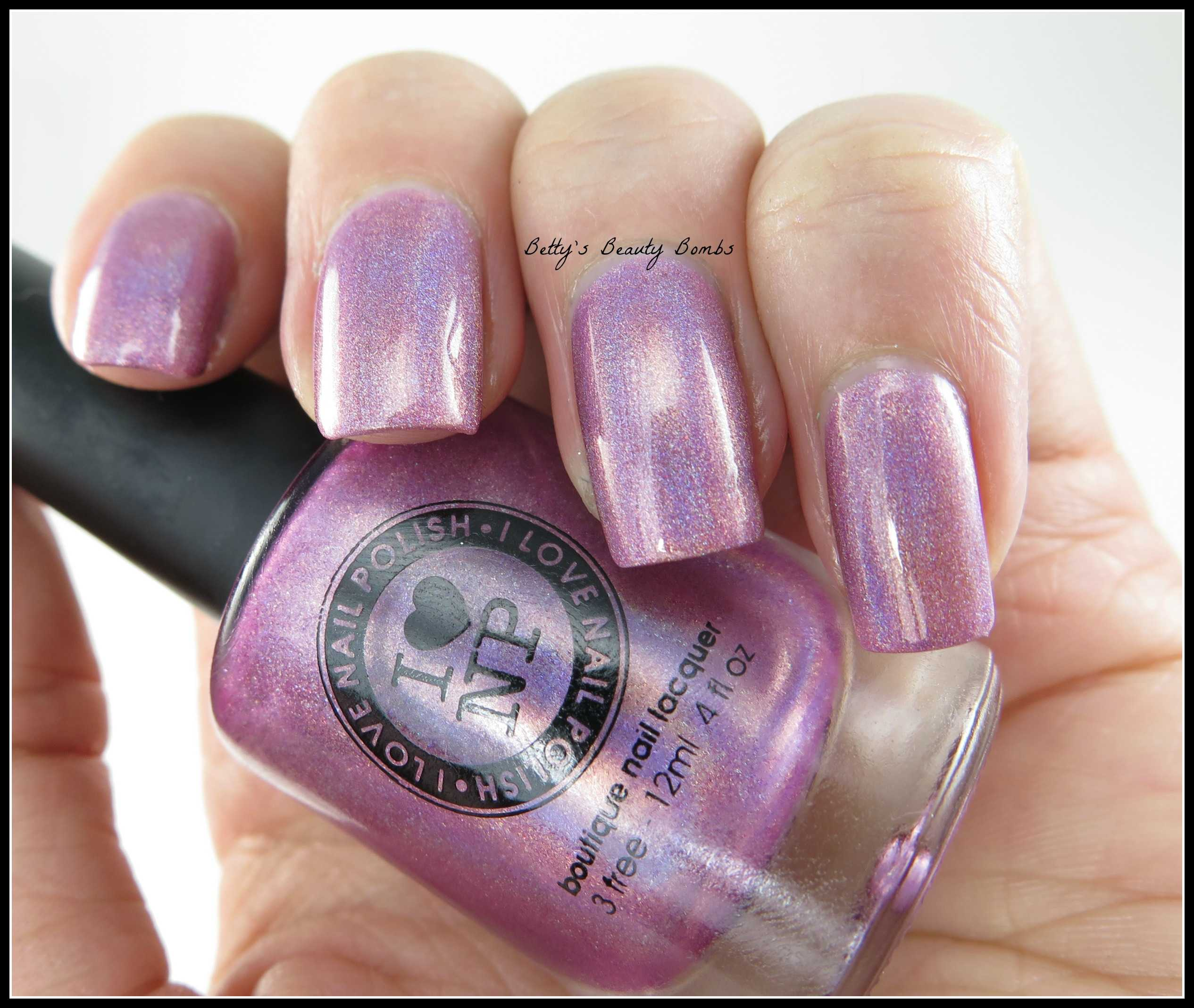 I Love Nail Polish Cygnus Loop meets Pixie Dust - Lazy Betty