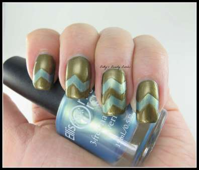 Chevron-Nail-Art-Doctor-Who