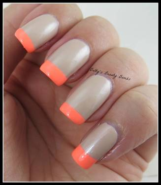 Neon-French-Tips