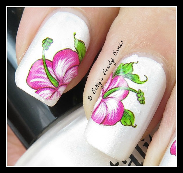 Born Pretty Store Nail Decal Review - Lazy Betty