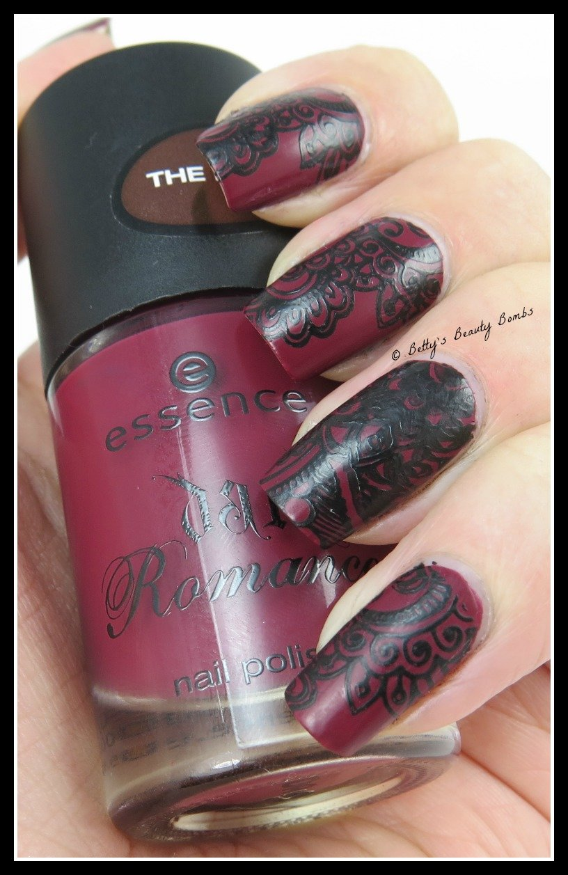 Gothic nail art stamping lazy betty konad stamping polish prinsesfo Choice Image