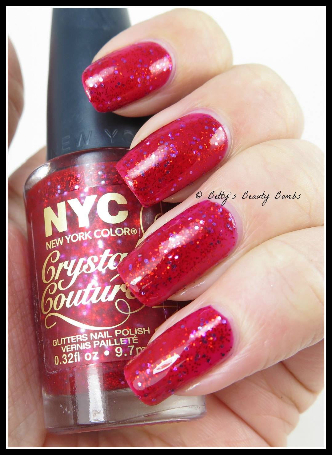 An apple as red as blood nail art stamping lazy betty then i picked a design off my cicisisi plate 07 and used konad special black to stamp this design on top but first here is ruby queen in all her solo prinsesfo Choice Image