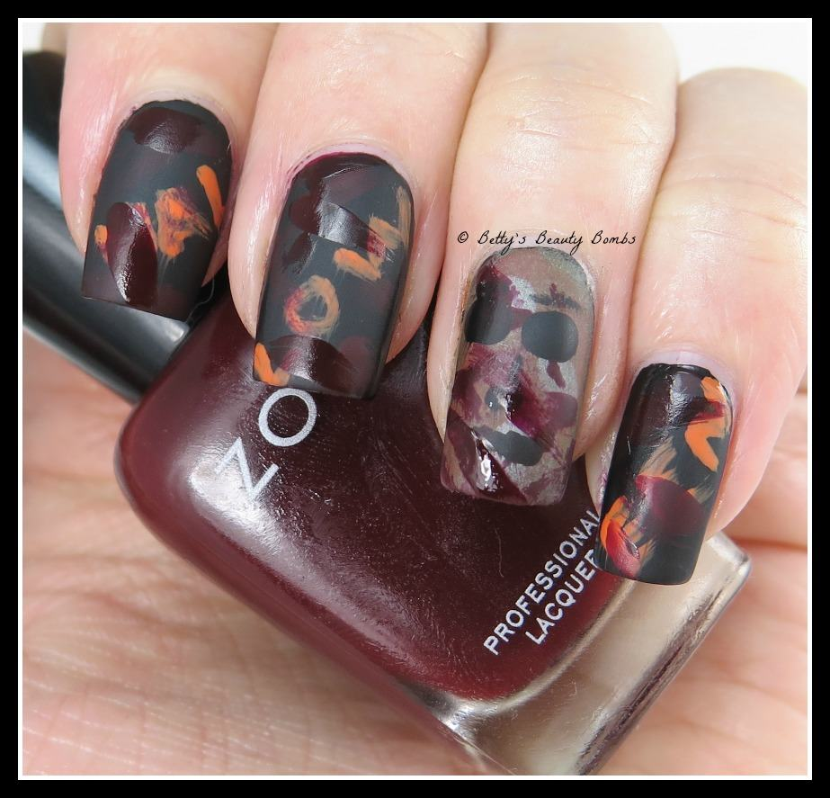 80s Horror Movie Mani Lazy Betty