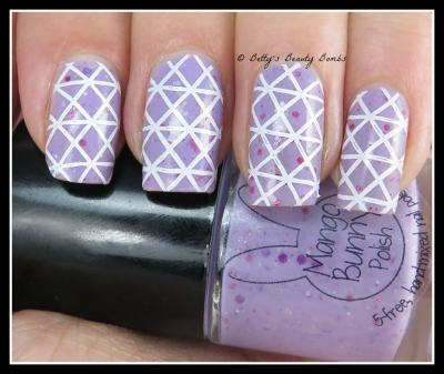 Cross-Hatch-Nail-Art