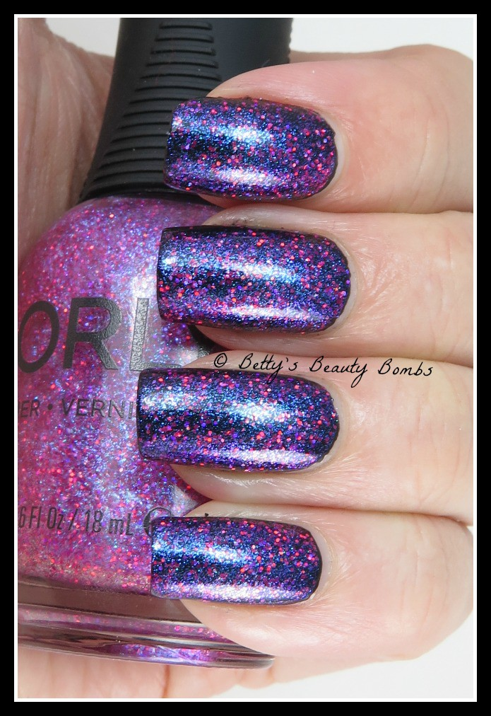 Orly Explosion of Fun Nail Art - Lazy Betty