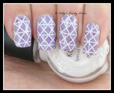 Purple-and-white-nail-art