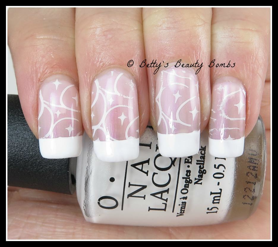 Fancy French Tips - Lazy Betty