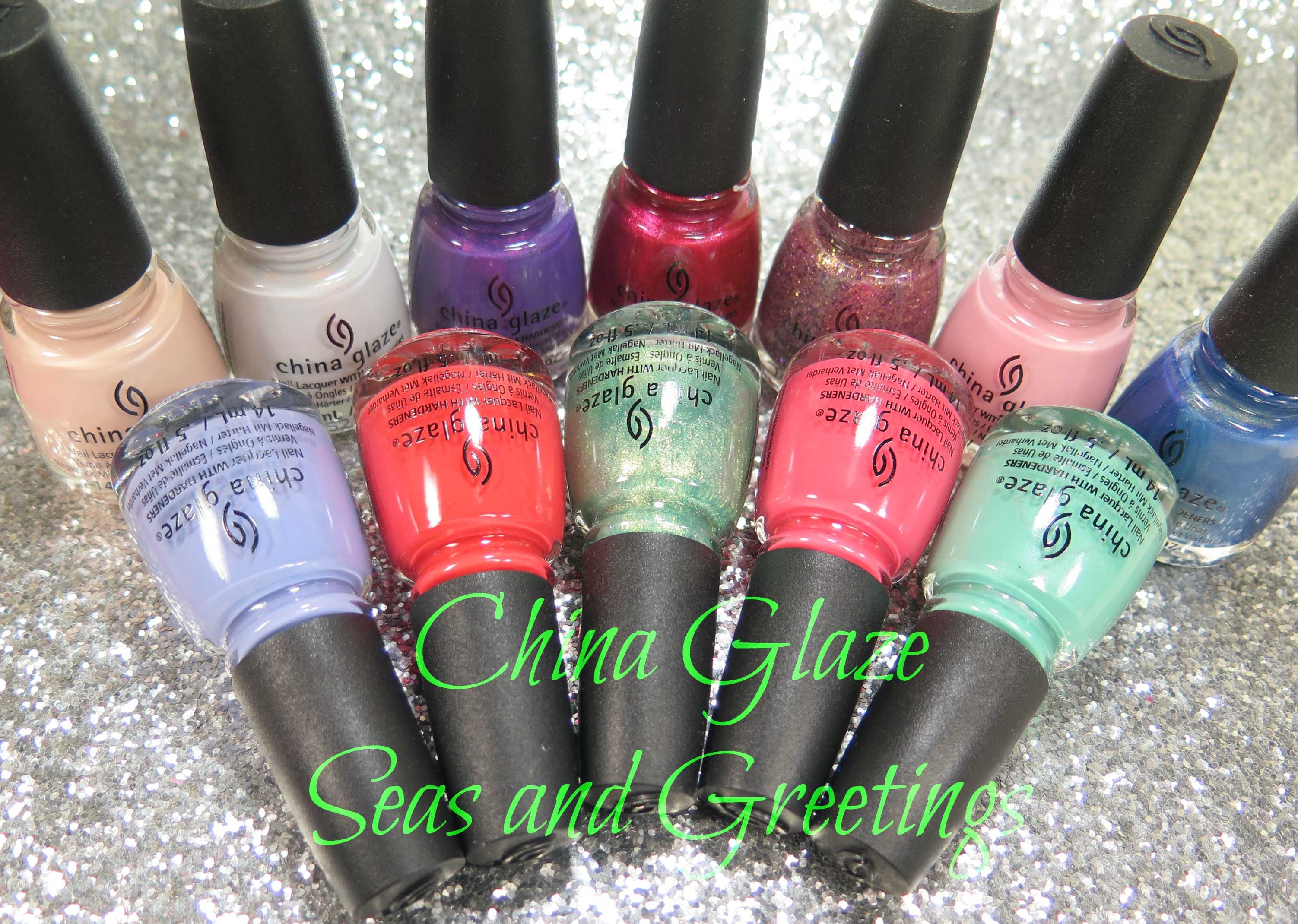 China Glaze Seas and Greetings Collection - Lazy Betty