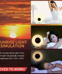 Sunrise Simulation Alarm Clock