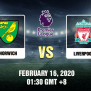 Norwich Vs Liverpool Prediction 16 02 20 Tips And Preview