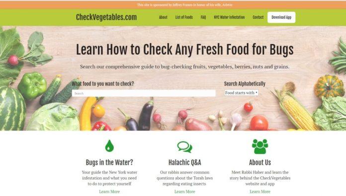 check vegetables website resources