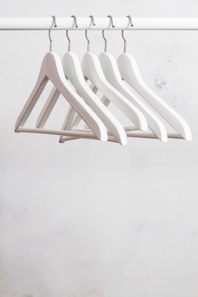 how to stock your guest bedroom with hangers