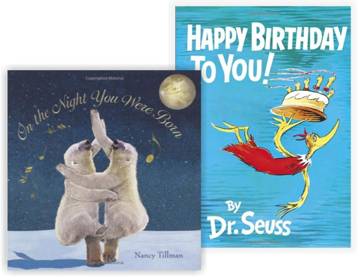 Great books to read to your children on their brithdays.