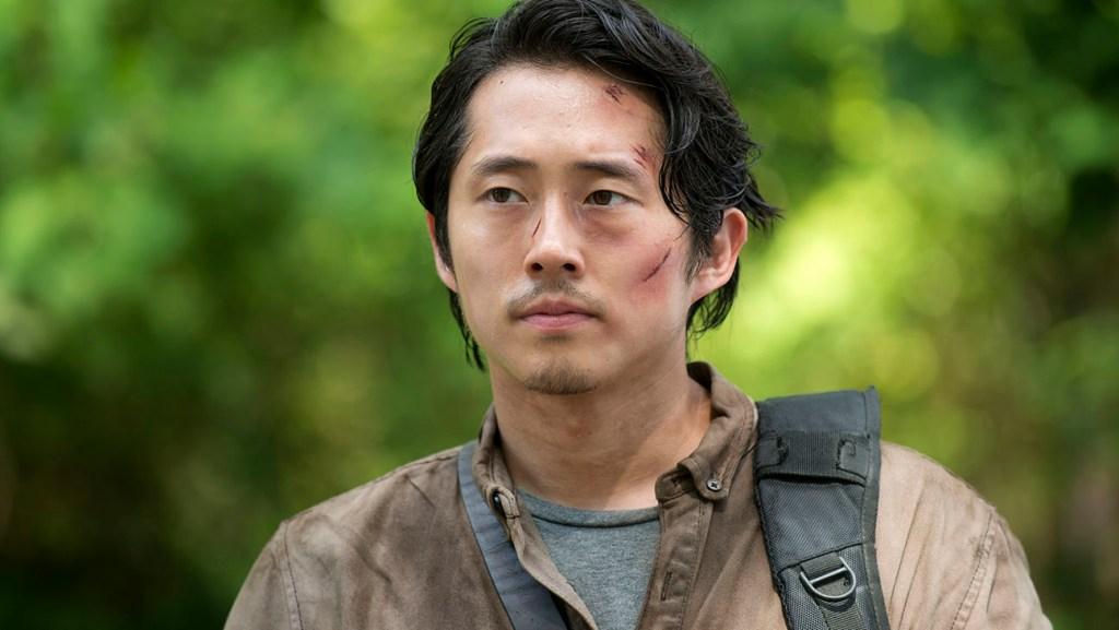 Steven Yeun as Glenn Rhee - The Walking Dead _ Season 6, Episode 3 - Photo Credit: Gene Page/AMC