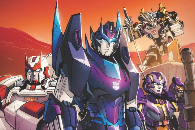 Transformers lost light comic IDW dec2016