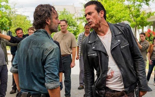 the walking dead season 7 episode 8 hearts still beating Rick Negan