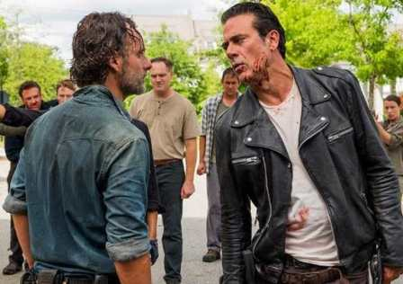 the walking dead season 7 episode 8 hearts still beating Rick Negan