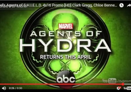 Marvel's Agents of H.Y.D.R.A. returns April2017 teaser