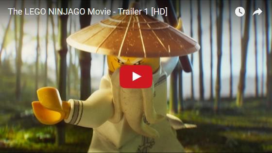 The LEGO Ninjago movie trailer Feb2017