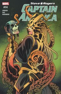 Captain America #14 - Marvel Comics - Nick Spencer