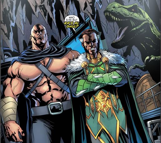 Detective-Comics #953 - DC Comics - Who else but Ra's al Ghul?!