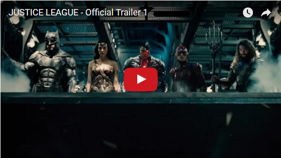 The official new Justice League Trailer - March 2017