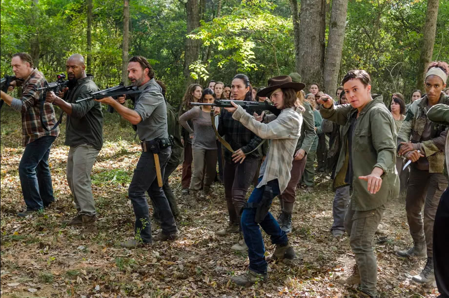 """The Walking Dead season 7, episode 15: """"Something They Need"""" - Rick & Crew working with Oceanside against the Walkers"""