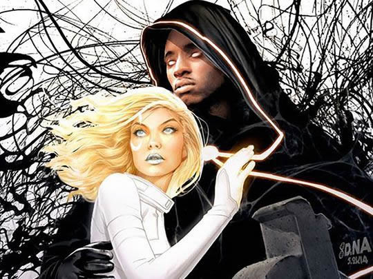 Marvel's Cloak and Dagger - how they look in the comic books.