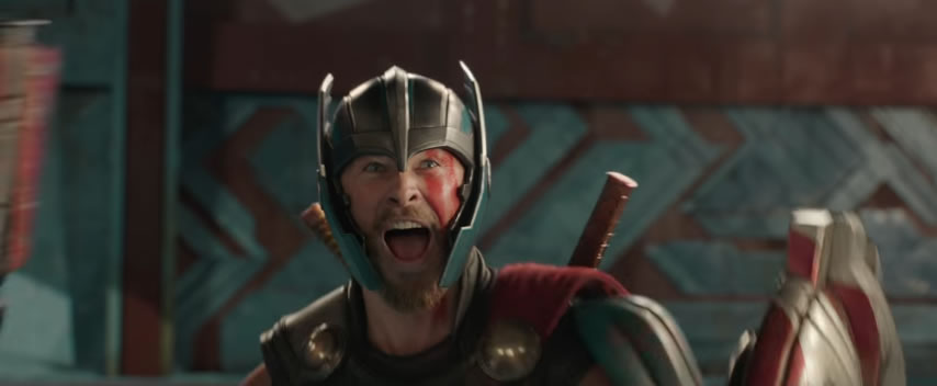 Marvel Thor: Ragnarok teaser trailer April 2017 featuring Planet Hulk