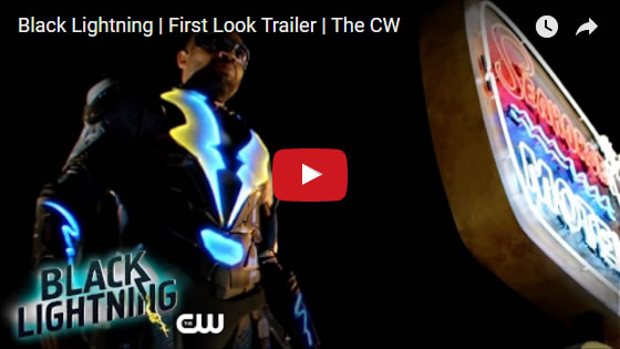 Black Lightning First Look Trailer - May 2017