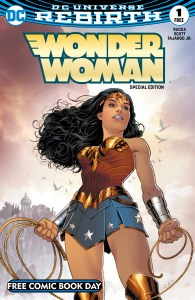 Wonder Woman - DC Comics - Free Comic Book Day comic