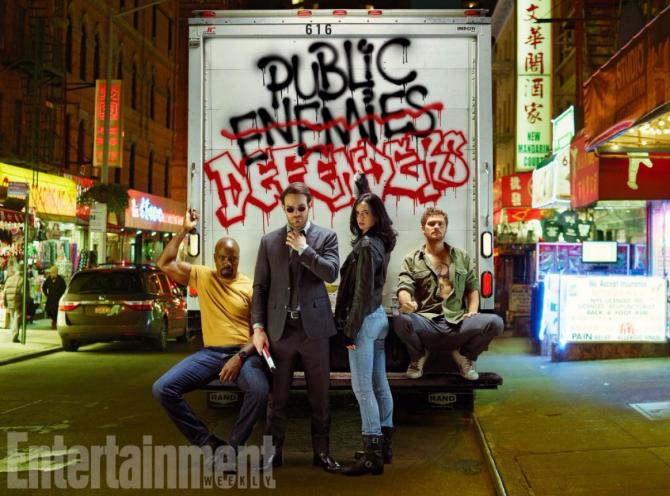 The Defenders trailer, The Defenders follows Daredevil, Jessica Jones, Luke Cage and Iron Fist.