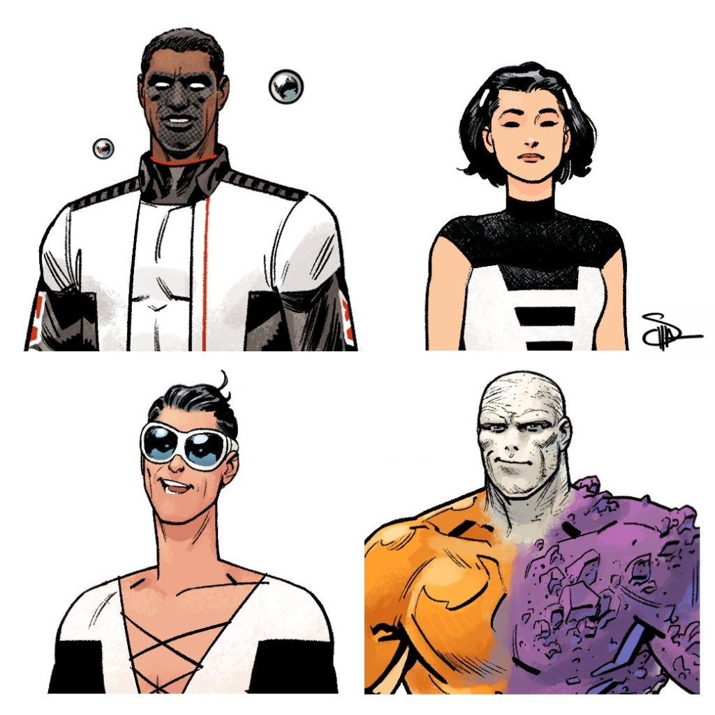 DC Comics The Terrifics by Jeff Lemire