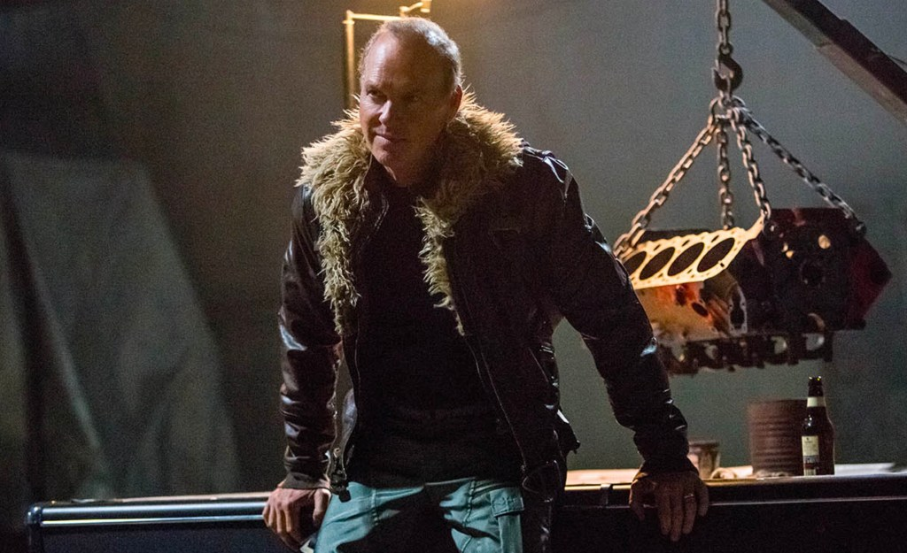 Michael Keaton as Toomes. Image: Sony