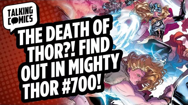 Talking Comics for 10.18.17 w CABLE #150, KID LOBOTOMY #1, MIGHTY THOR #500 & More