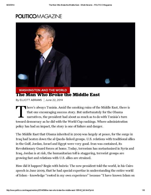 The Man Who Broke the Middle East - Elliott Abrams - POLITICO Magazine_Page_1