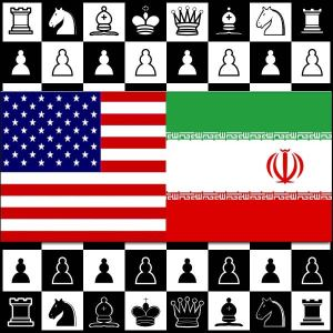 Iran-US-Chess-game
