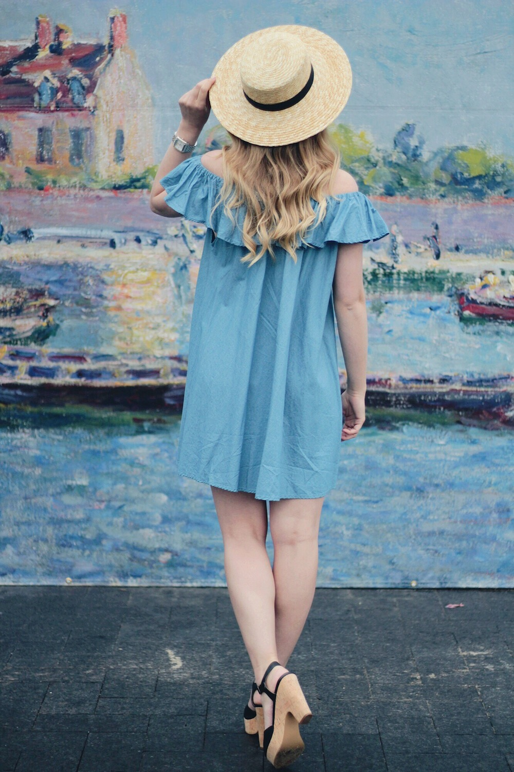 boater hat summer style